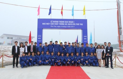 Inauguration ceremony of DTK Phu Tho Clean Chicken Egg Production Factory
