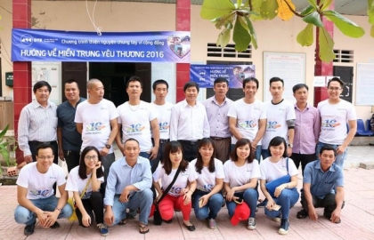 DTK's Charity Campaign to Central Region Vietnam 2016